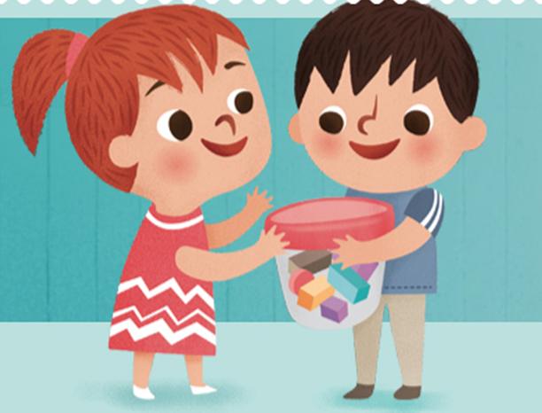 Resultado de imagen de compartir juguetes